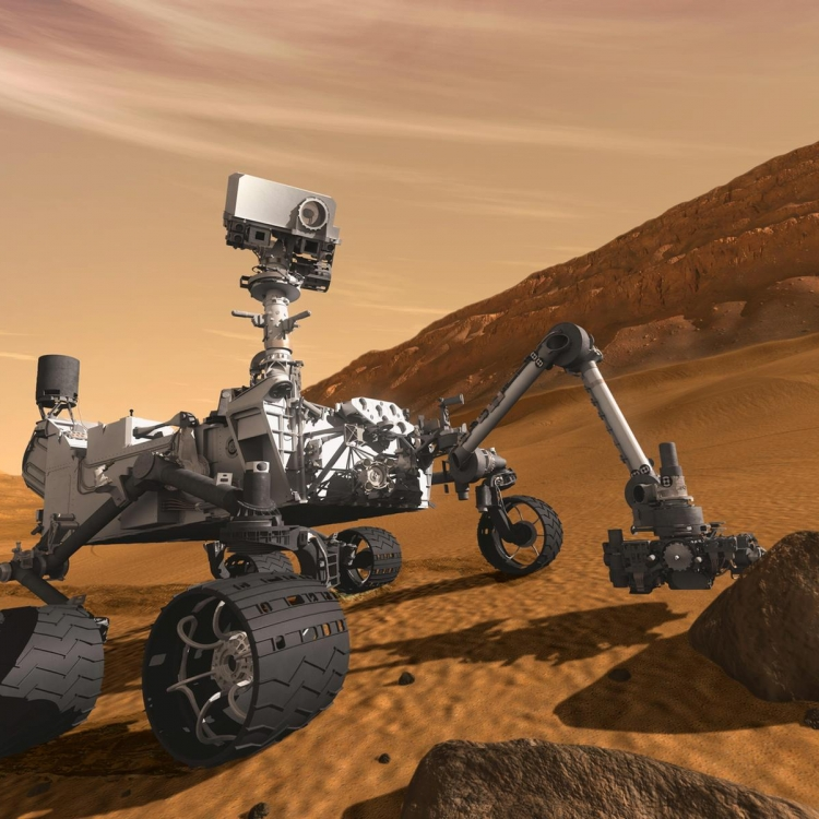 Curiosity's First Year of Exploration on Mars