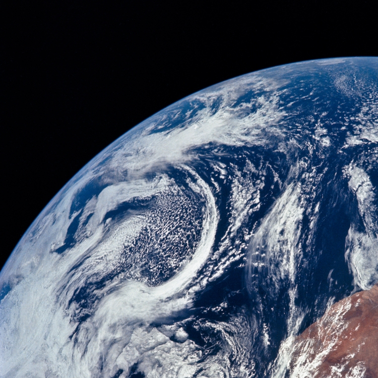 Studying the Earth From Manned Spacecraft?