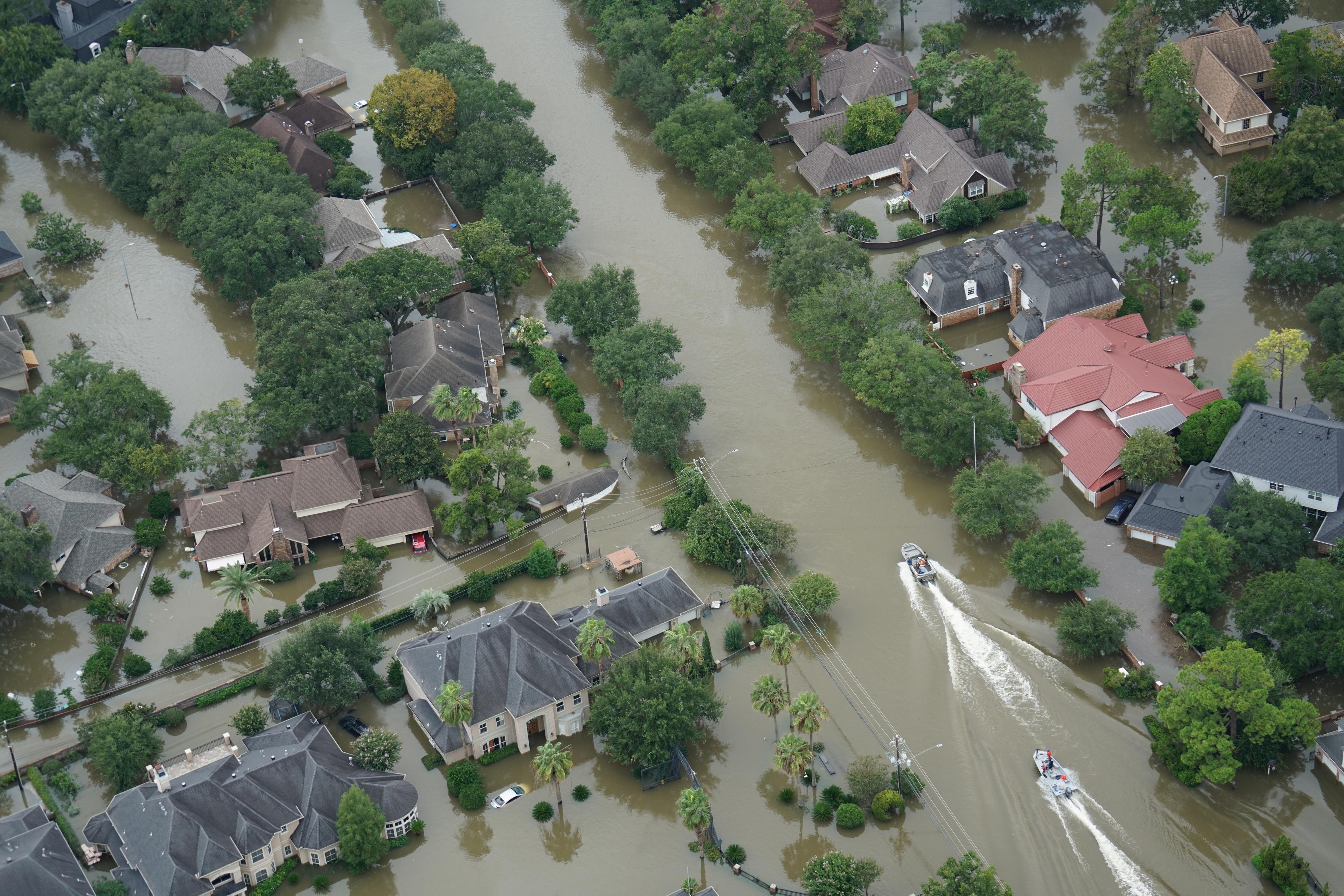 Hurricane Harvey: Flood Emergency Response