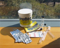 Water quality monitoring kits